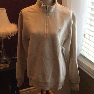 Izod sweatshirt with zipper
